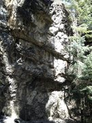 Rock Climbing Photo: White Noise- 13b.