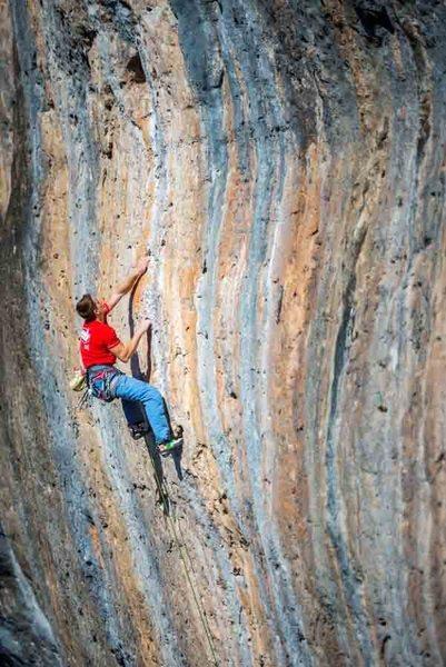 Rock Climbing Photo: Cantobre