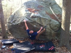 Rock Climbing Photo: Does this have a name? Remnant area?