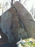 Rock Climbing Photo: What is this? Remnant area?