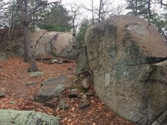 Rock Climbing Photo: Mt. Spicket Area - S05 in foreground, S06 in backg...