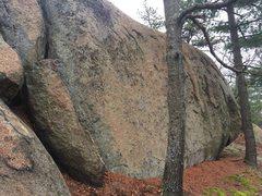 Rock Climbing Photo: Golden Wall - S15.