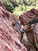 Rock Climbing Photo: Having a blast with the 3D features on the second ...