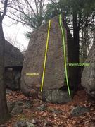 Rock Climbing Photo: The Anvil - S18.