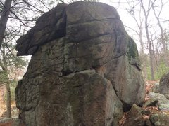 Rock Climbing Photo: Mt. Spicket Area - S17 (The boulder next to The An...