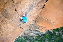 Rock Climbing Photo: Jeff Snyder on the second pitch.  Photo: Blake McC...