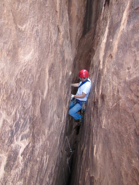 Rock Climbing Photo: 2nd pitch chimney