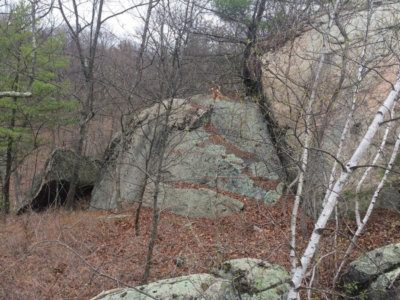 Goliath Rock Area - G25. (Is this Goliath Rock?)