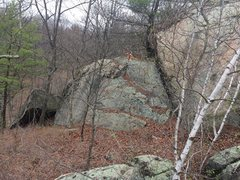 Rock Climbing Photo: Goliath Rock Area - G25. (Is this Goliath Rock?)