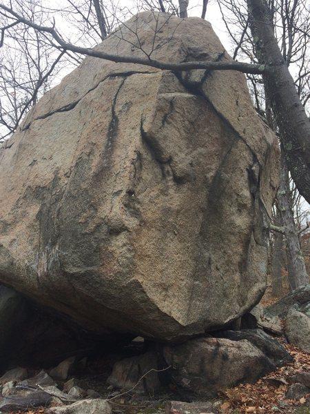 Rock Climbing Photo: Bob Parrot Boulder - G11.