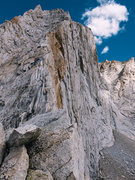 Rock Climbing Photo: Francisco on the west ridge of Conness, September ...