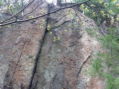 Rock Climbing Photo: On the Tombstone to the left of Guillotine.