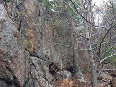 Rock Climbing Photo: The Tombstone - W03.