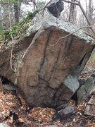 Rock Climbing Photo: Weetamoo (Tombstone Boulders) - W35.