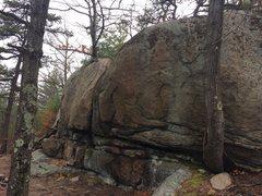 Rock Climbing Photo: Summit Boulder 1.