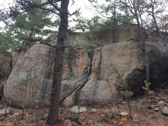 Rock Climbing Photo: Summit Boulder 2.