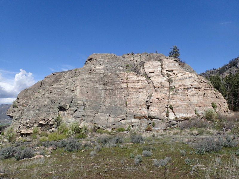Rock Climbing Photo: South Face Big Butte