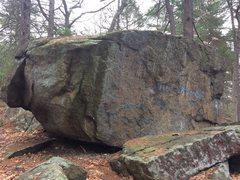 Rock Climbing Photo: Grafitti Boulder.
