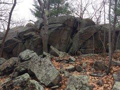 Rock Climbing Photo: Overlook Area - O32.
