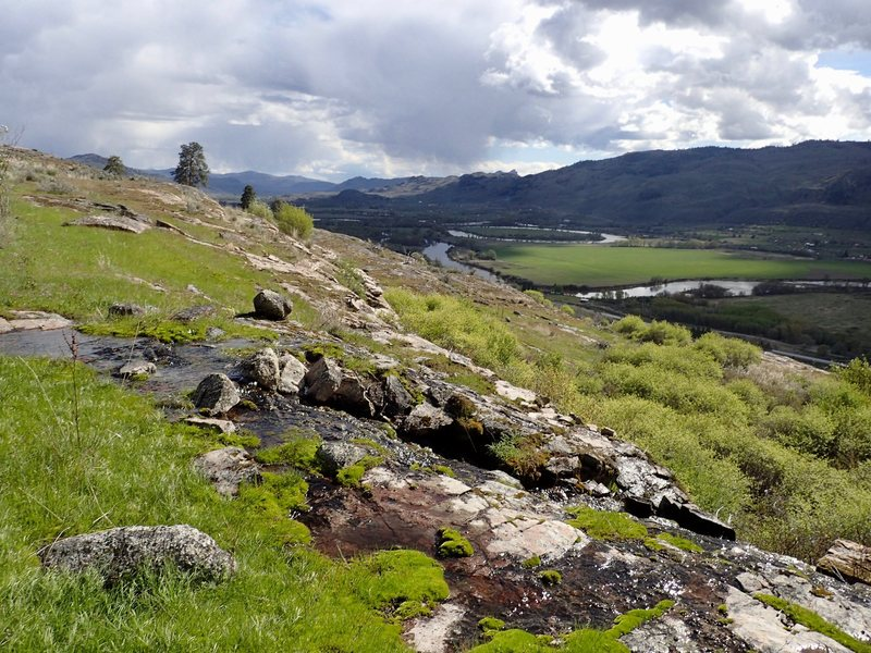 Rock Climbing Photo: Okanogan Valley spring.