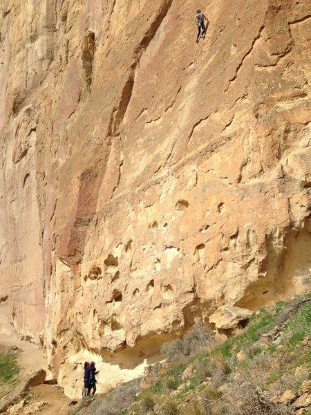Rock Climbing Photo: Smith, 5.10a I think...
