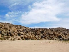 Rock Climbing Photo: Keepers Cove from the start of the dirt, Horseman&...