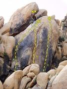 Rock Climbing Photo: Dancing Deuces Pillar, Keepers Cove  A. One Scoop ...