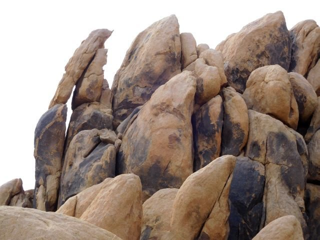 There are lots of interesting rock formations here, Keepers Cove