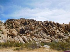 Rock Climbing Photo: The right portion of the cove, Keepers Cove