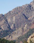 Rock Climbing Photo: Center of Mule Hollow