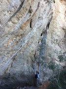 Rock Climbing Photo: To the right of the Left/Right Grey Slab routes th...