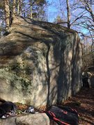 Rock Climbing Photo: A different angle looking down the front face of t...