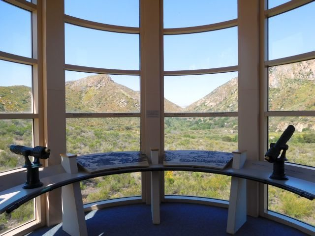 The view from the Visitor's Center, Mission Gorge