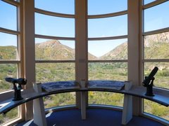Rock Climbing Photo: The view from the Visitor's Center, Mission Go...