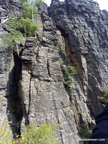 Rock Climbing Photo: A view of Fermeda
