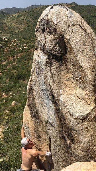 Rock Climbing Photo: Top view
