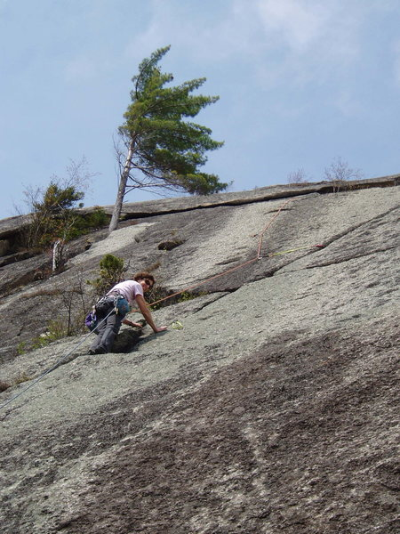 "Rock Climbing Photo: S Matz about to start the Scepter ""variation&..."