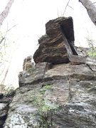 Rock Climbing Photo: The gateway to the route. Some day it is going tum...
