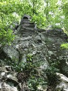 Rock Climbing Photo: Middle formation with the little tower.