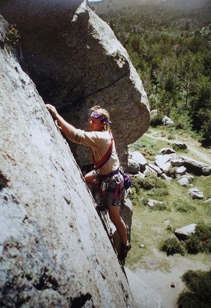 Rock Climbing Photo: back in the day... (June '93)