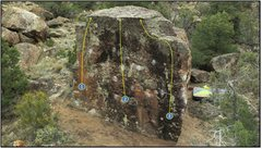 Rock Climbing Photo: 3. Bugs Bunny.