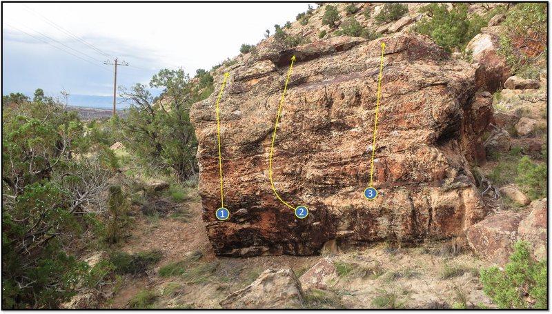Rock Climbing Photo: 3. Speedy Gonzales.