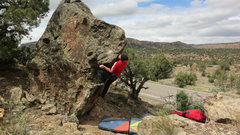 Rock Climbing Photo: Moving to the sidepull on United Statements of Ear...