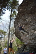 Rock Climbing Photo: Jacob with the 2nd ascent of Eastbound & Down