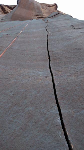 Rock Climbing Photo: A beautiful splitter