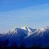 Jobs Peak. Photo shows East and West Peak.
