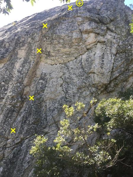 Rock Climbing Photo: OSH