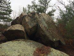 Rock Climbing Photo: Bobcat Den (W25).