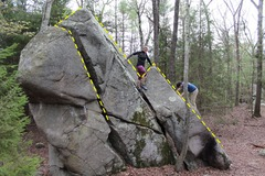 Rock Climbing Photo: Shot of the V0.