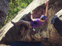 Rock Climbing Photo: In Little Rock Canyon